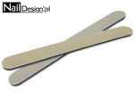 Nail files Made in Germany  straight 180/240 - color ecru / white - 50 pieces package.
