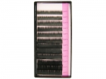 Eyelashes J 0.20, a length of 7 mm to 15 mm, Black