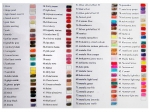 Gel Polish Collors list