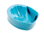 manicure bowl light blue
