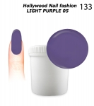 NEW GEL Polish - Soak Off 1000ml - Hollywood Nail fashion - Light Purple 05 (133) Medium Viskos