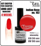 Żel Hybrydowy - GEL Polish 15ml - soak off - Indian Rose (no. 102)