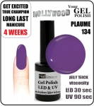 Żel Hybrydowy - GEL Polish 15ml - soak off - Plaume / Plum (no. 134)