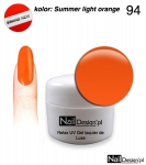 Żel Hybrydowy 5ml - GEL Polish - Summer light orange (94)