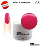 Żel Hybrydowy 5ml - GEL Polish - Summer pink (95)