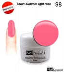 Żel Hybrydowy 5ml - GEL Polish - Summer light rosa (98)
