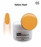 Żel Hybrydowy 5ml - GEL Polish - Yellow Flash (5)