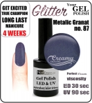 GEL Polish 8ml - soak off - Metalic Granat (no. 87)