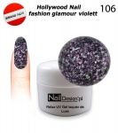 Gel Polish - Soak off 5ml - Hollywood Nail fashion - glamour violett (106)