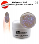 Gel Polish - Soak off 5ml - Hollywood Nail fashion - glamour star color (107)