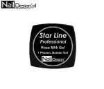 Star Line Professional ROSE MILK Żel 5 ml