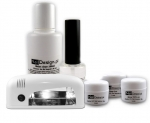 Relax UV Gel Kit laquier Gel Polish de Luxe + Light PSL03