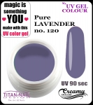 UV color Gel 5 ml TND - 120 - pure lavender
