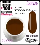UV color Gel 5 ml TND - 121 - pure wood falurot