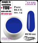 UV color Gel 5 ml TND - 14 - pure blue