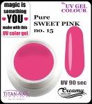 UV color Gel 5 ml TND - 15 - pure sweet pink
