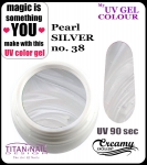 UV color Gel 5 ml TND - 38 - pearl silver