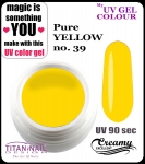 UV color Gel 5 ml TND - 39 - pure yellow