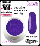 UV color Gel 5 ml TND - 65 - metallic viollet