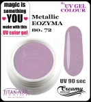 żel kolorowy UV color Gel 10 ml TND - 72 - metallic eozyma