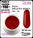 UV color Gel 5 ml TND - 74 - pure beleza rosa