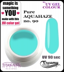 żel kolorowy UV color Gel 5 ml TND - 90 - pure aquahaze