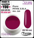 UV color Gel 5 ml TND - 92 - pure pink lila