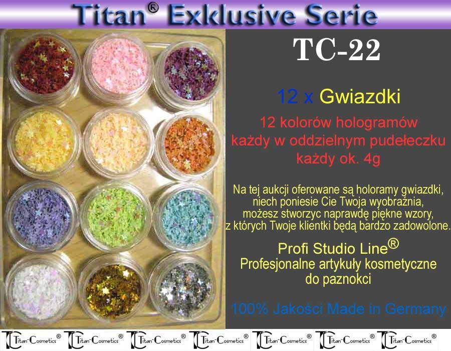 Hologramy gwiazdki TC-22