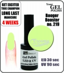 hybrydowy lakier - GEL Polish 15ml - soak off - Booger Booster (no. 219)