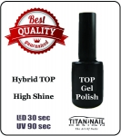Versiegler Gel Polish - GEL Polish - UV-Nagellack - Shine TOP 15 ml