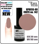 Żel Hybrydowy - GEL Polish - Soak Off 8ml XPRESS-07 COFFEE (no. 142)