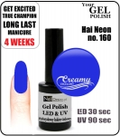 hybrydowy lakier - GEL Polish 8ml - soak off - Hai Neon (no. 160)