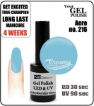 Hybrydowy lakier - GEL Polish 8ml - soak off - Aero (no. 216)