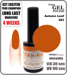 GEL Polish 8ml - soak off - Autumn Leaf (no. 283)