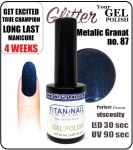 GEL Polish 15ml - soak off - Metalic Granat (no. 87)