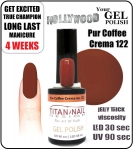 GEL Polish - Soak Off 15ml - Pur Cafe Crema (no. 122)