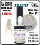 GEL Polish 8ml - soak off - Opal Foci Efect (no. 151)