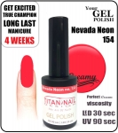 GEL Polish 8ml - soak off - Nevada Neon (no. 154)