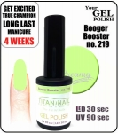 GEL Polish 15ml - soak off -  Booger Booster (no. 219)