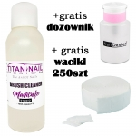 Brush liquid 1000ml + GRATIS dispenser + Nailwippes