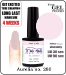 GEL Polish 15ml - soak off - Aurelia (no. 280)