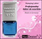 TC- Stamping Lack 12 ml Blue Metallic (30)