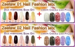 Zestaw 01 + 02 Nail Fashion Mix
