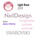 Cyrkonie Swarovski Light Rose SS10