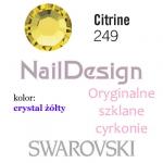 Cyrkonie Swarovski Citrine - żółte SS10 (1440 sztuk)