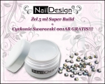 SUPER BUILD Żel Profi Studio Line 5 ml + cyrkonie Swarovski