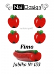 Fimo cane nr 153 Apple  + jar