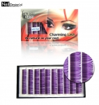 Lila Wimpern Flash Lash 0.15 dick 12 mm lang Eye Lash Mink