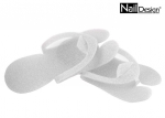 Disposable flip flops for pedicure beauty salon WHITE
