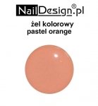 Pastel orange professional color gel 5 ml